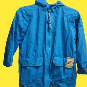 Sun Valley Blue Rain Jacket Boy Size 5